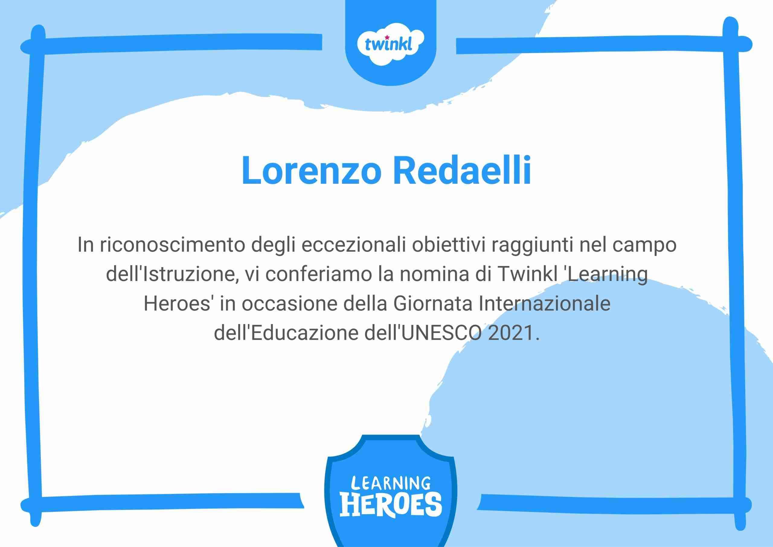 Twinkl – Learning Hero 2021